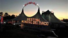 El Circo Mundial en una de sus actuaciones.