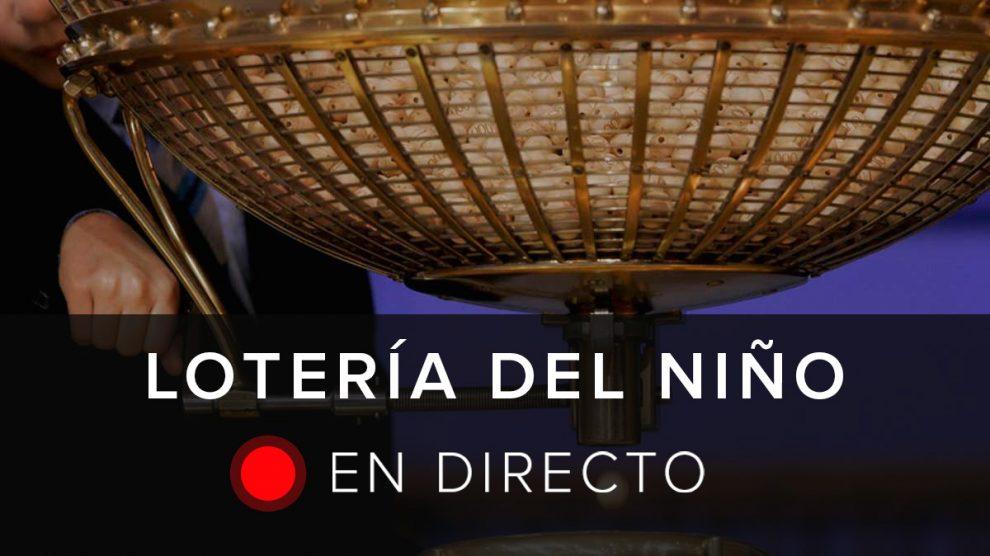 Sigue en directo la Lotería del Niño 2018.