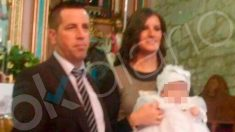 José Enrique Abuín Gey, alias 'El Chicle' y asesino confeso de Diana Quer, junto a Rosario Rodríguez, su mujer también investigada en el caso, y la hija de ambos. Foto: OKD