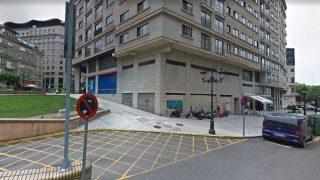 Calle Inés Pérez de Zeta, en Vigo, donde se produjeron los hechos.