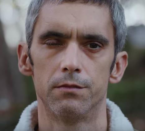 El violento Roger Español es uno de los rostros del documental del 1-O