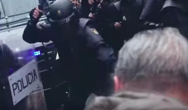 El documental siempre da una imagen violenta de la Policía Nacional