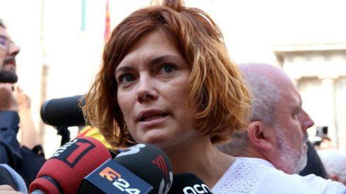 Elisenda Alamany, número dos de los 'comunes'.