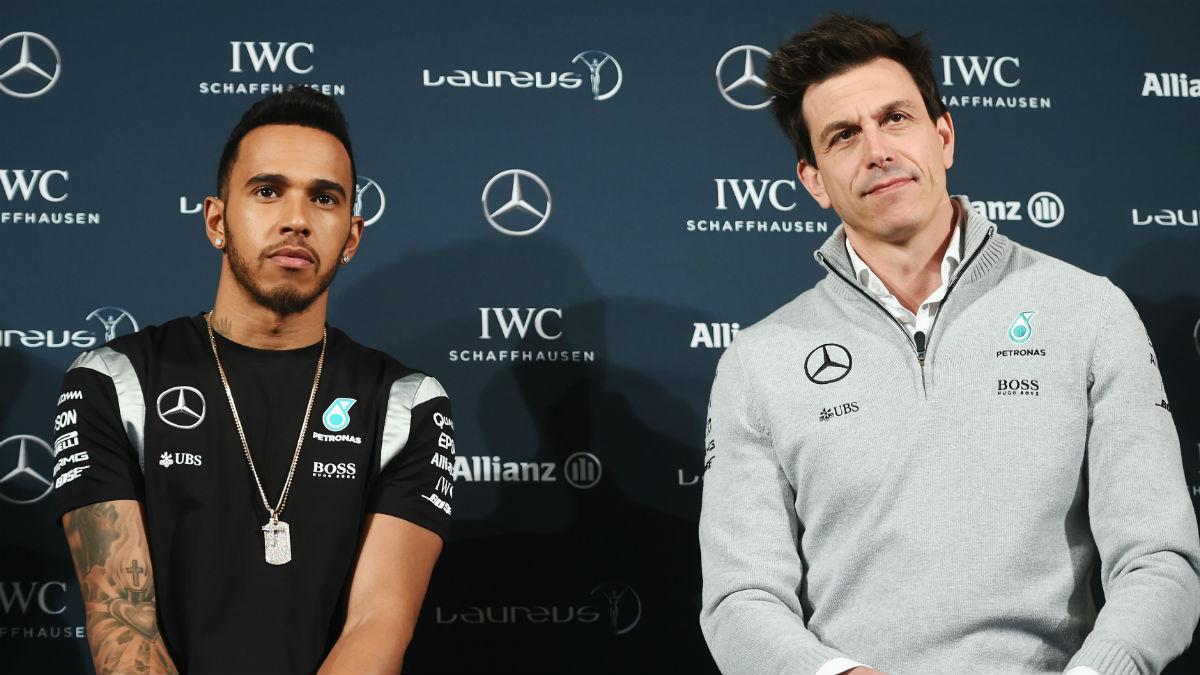 Aunque no lo reconozca públicamente, Lewis Hamilton podría intentar alcanzar los siete títulos mundiales de Michael Schumacher, tal y como confirma su jefe Toto Wolff. (Getty)