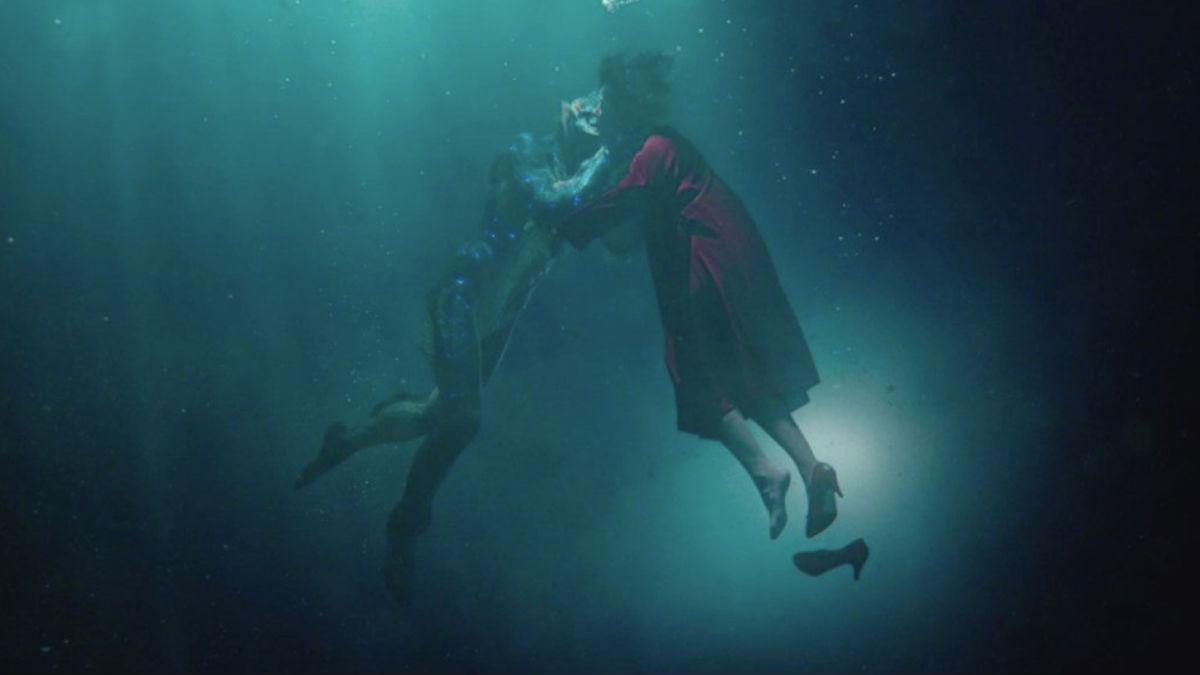 Fotograma de la película 'La forma del agua', dirigida por Guillermo del Toro