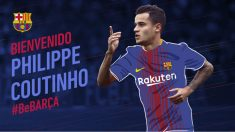 Coutinho, nuevo jugador del Barcelona. (fcbarcelona.cat)
