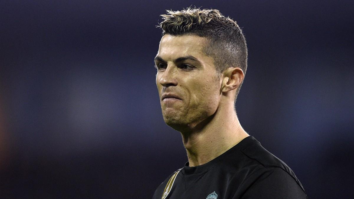 Cristiano Ronaldo, en el Celta vs Real Madrid. (Getty)