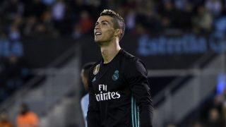 Cristiano Ronaldo, durante el Celta vs Real Madrid (Getty)