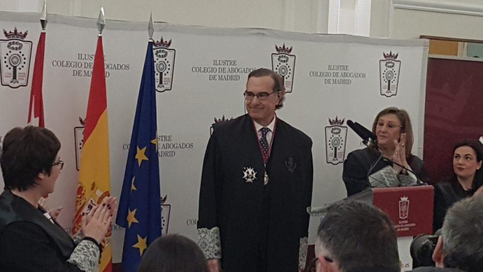 José María Alonso, decano del Ilustre Colegio de Abogados de Madrid, ICAM (Foto: OKD).