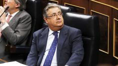El ex ministro del Interior, Juan Ignacio Zoido, en el Congreso de los Diputados. (EFE)