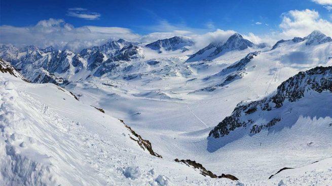 glaciar alpino