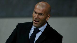 Zidane, en un partido con el Real Madrid. (Getty)