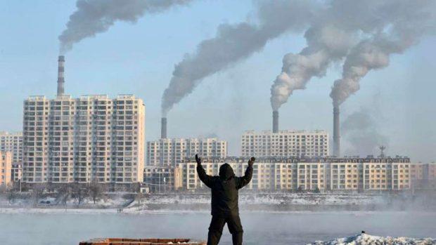 Gas contaminante