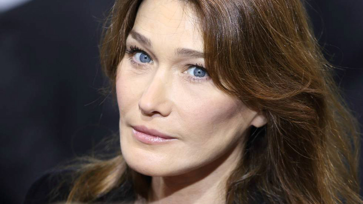 La actriz, modelo y cantante Carla Bruni.