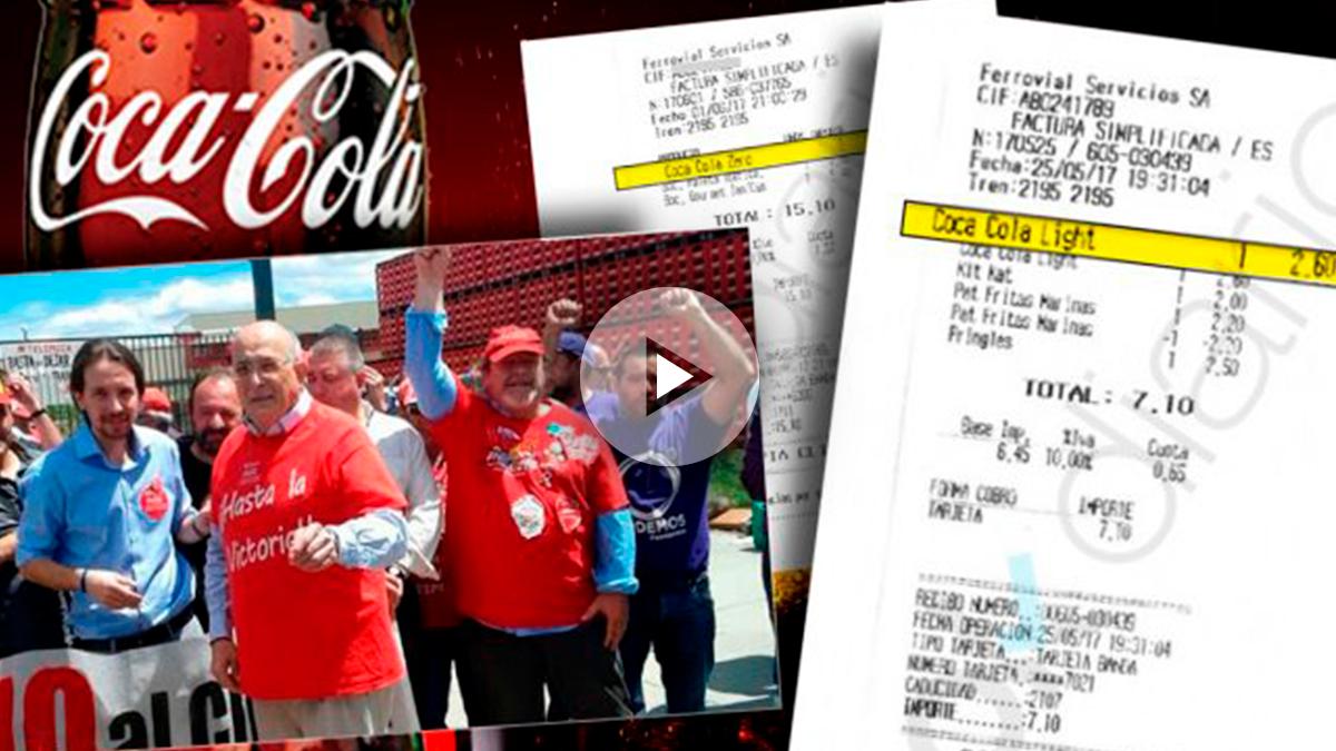Podemos boicotea a Coca-Cola