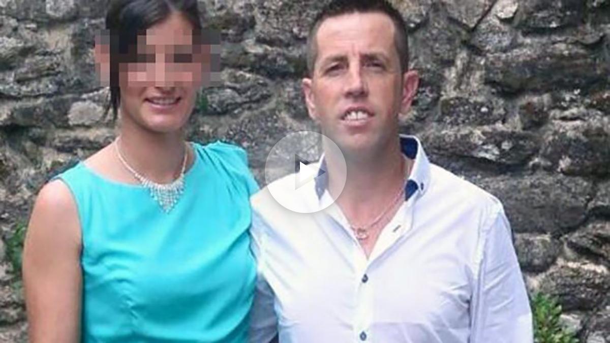 José Enrique Abuín Gey, alias Quique 'El Chicle', autor confeso de la muerte de Diana Quer. Al lado su mujer ya en libertad.