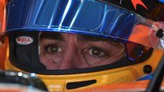 Fernando Alonso, con gesto pensativo. (AFP)