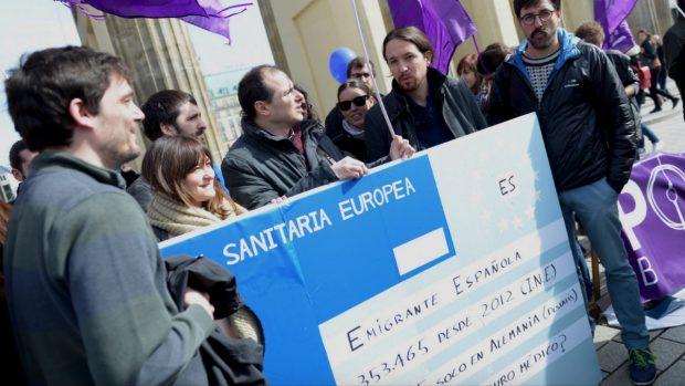 Iglesias y Montero gastaron 8.000€ en viajar a Berlín 24 horas para una manifestación de 50 personas