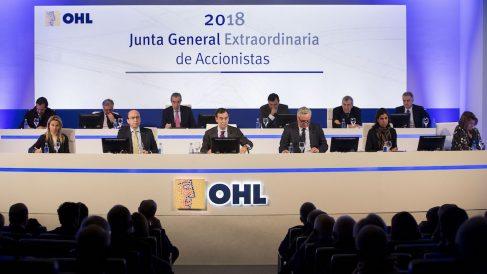 Junta General Extraordinaria de OHL. (Foto: OHL)