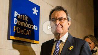 Artur Mas dimite como presidente del PDeCAT