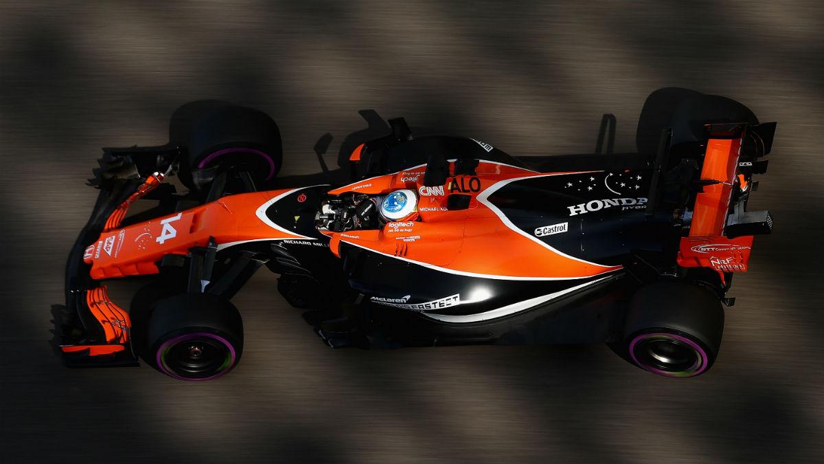 McLaren será un contendiente a todo en 2018 con la llegada del motor Renault, según opina un Romain Grosjean que considera a los de Woking como la mayor estructura de la Fórmula 1 del presente. (Getty)