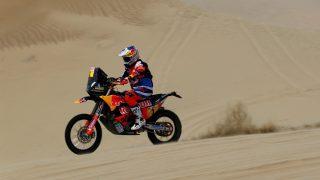 Sam Sunderland, en una etapa del Dakar. (Getty)