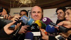 Luis de Guindos, ministro de Economía en Spain Investors Day. FRANCISCO TOLEDO