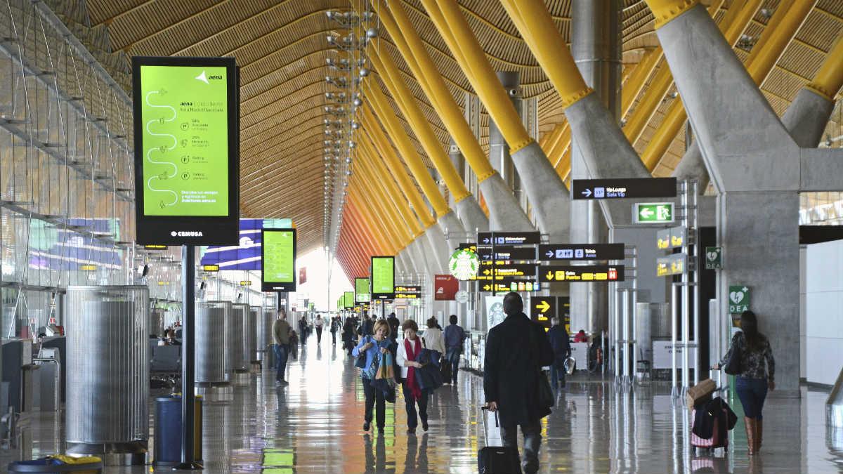 Aeropuerto Madrid-Barajas Adolfo Suárez. (Foto: EFE)