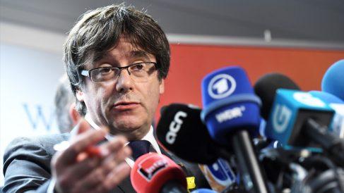 Carles Puigdemont, ex presidente de la Generalitat de Cataluña. (Foto: AFP)