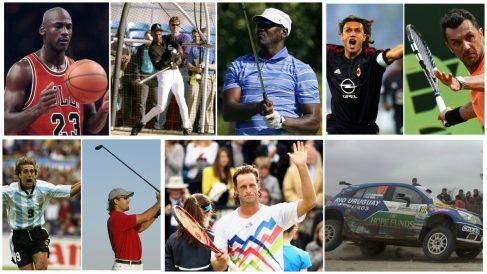 Los deportistas que cambiaron de disciplina. (Fotos: Getty Images y AFP)