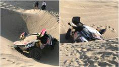 El coche de Sebastian Loeb. (Dakar)