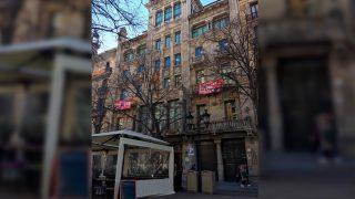 Sede del Departamento de Economía de la Generalitat en Barcelona (Foto: 'Dolça Catalunya').