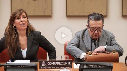 Alicia Sánchez-Camacho y Miguel Herrero de Miñón. (Foto: EFE)