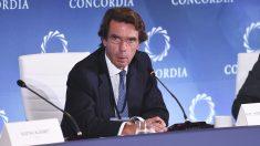 José María Aznar. (Foto: AFP)