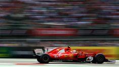Raikkonen, en un Gran Premio con Ferrari. (Getty)