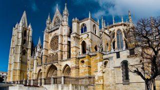 Catedral de León, España.