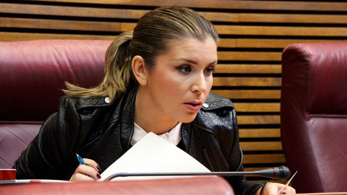 Mari Carmen Sánchez, portavoz de Ciudadanos en las Cortes Valencianas.