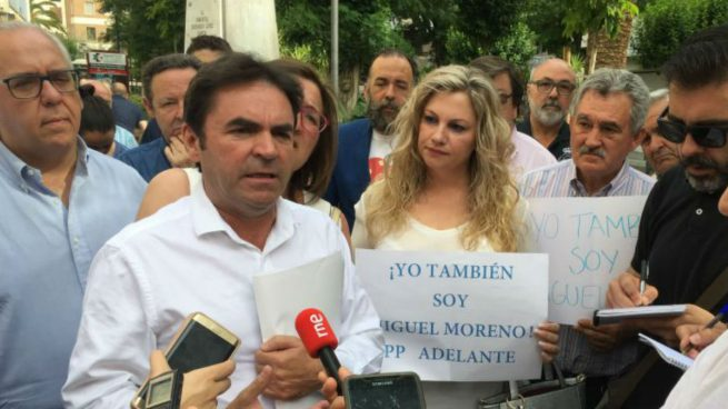 El acalde de Porcuna, Miguel Moreno, encabeza la corriente crítica en el PP, 'Jaén Adelante'