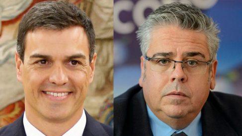 Pedro Sánchez e Ignacio Sánchez Amor