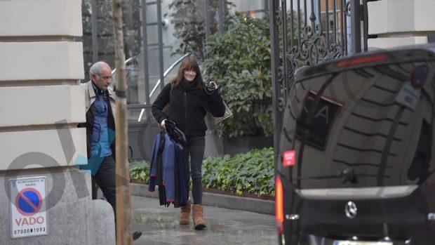Aznar y Sarkozy se reúnen en Madrid aprovechando la gira de Carla Bruni