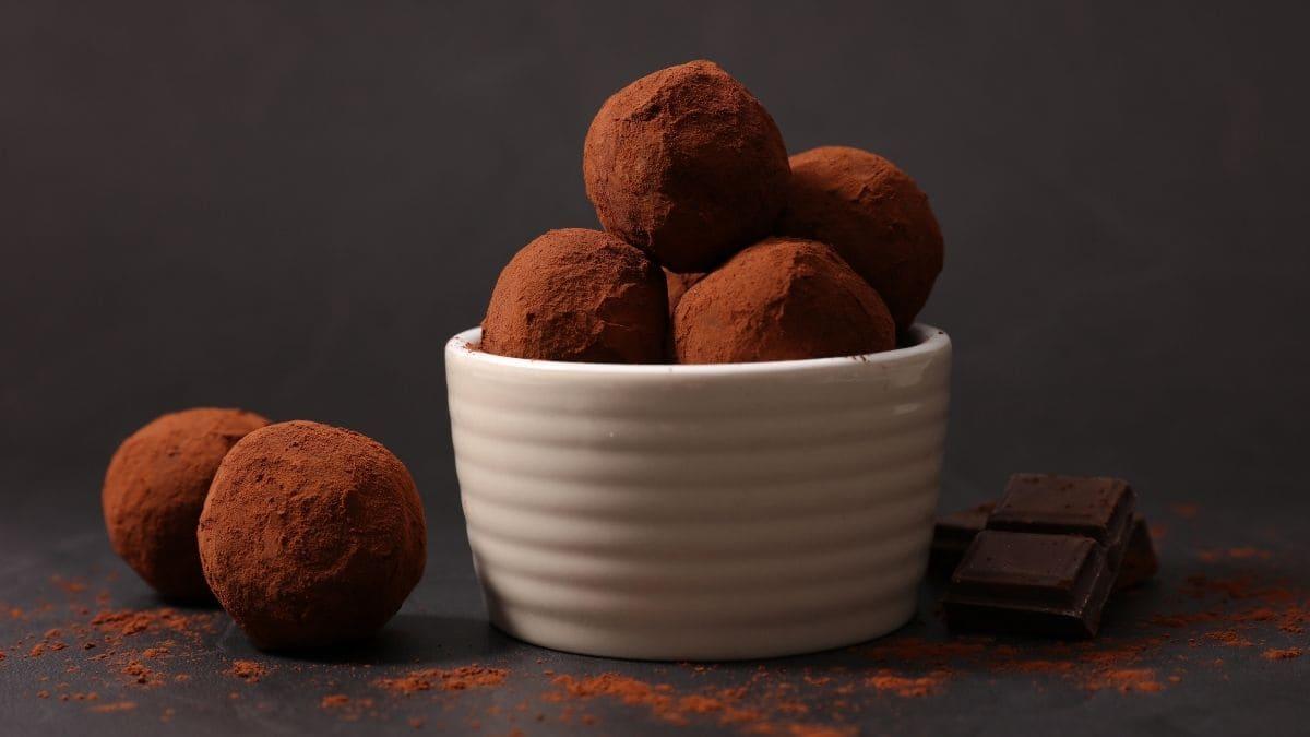 Receta paso a paso de las trufas de chocolate