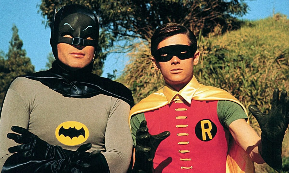 Adam West y Burt Ward en la serie de televisión 'Batman'.