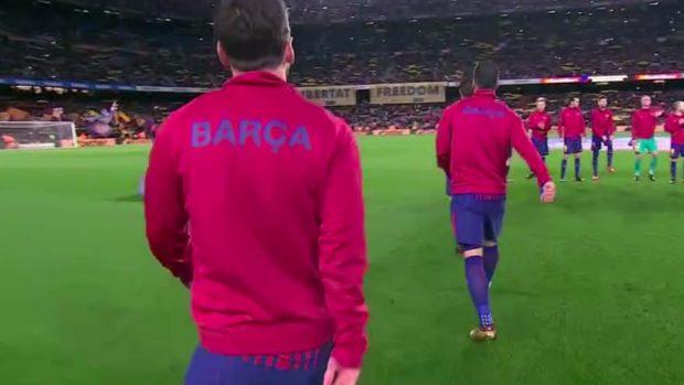 El Camp Nou vuelve a homenajear a los golpistas
