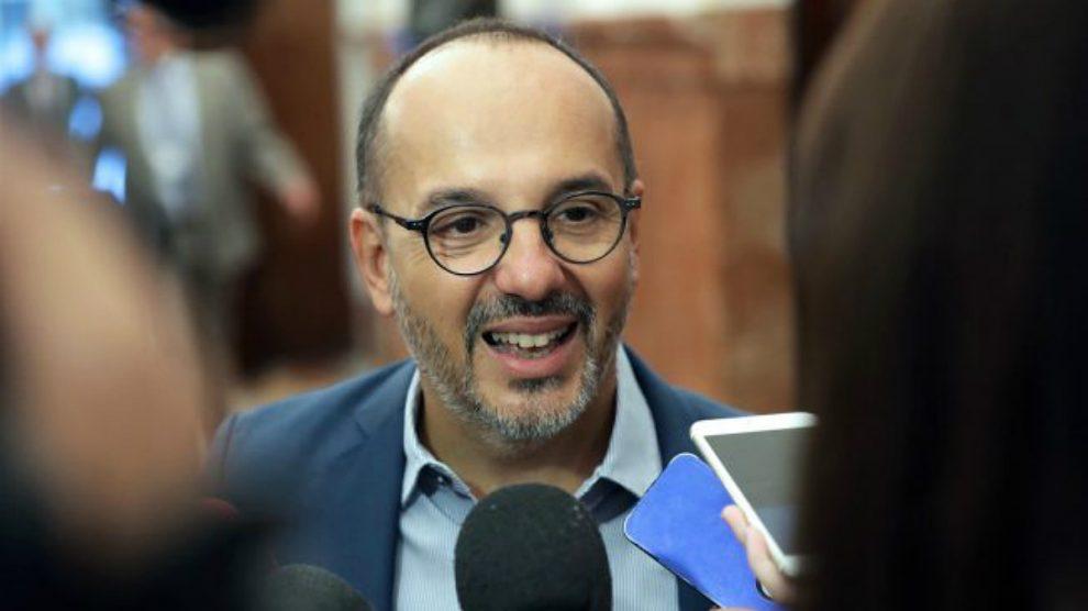 Carles Campuzano, portavoz del PDeCAT en el Congreso de los Diputados. (Foto: EFE)