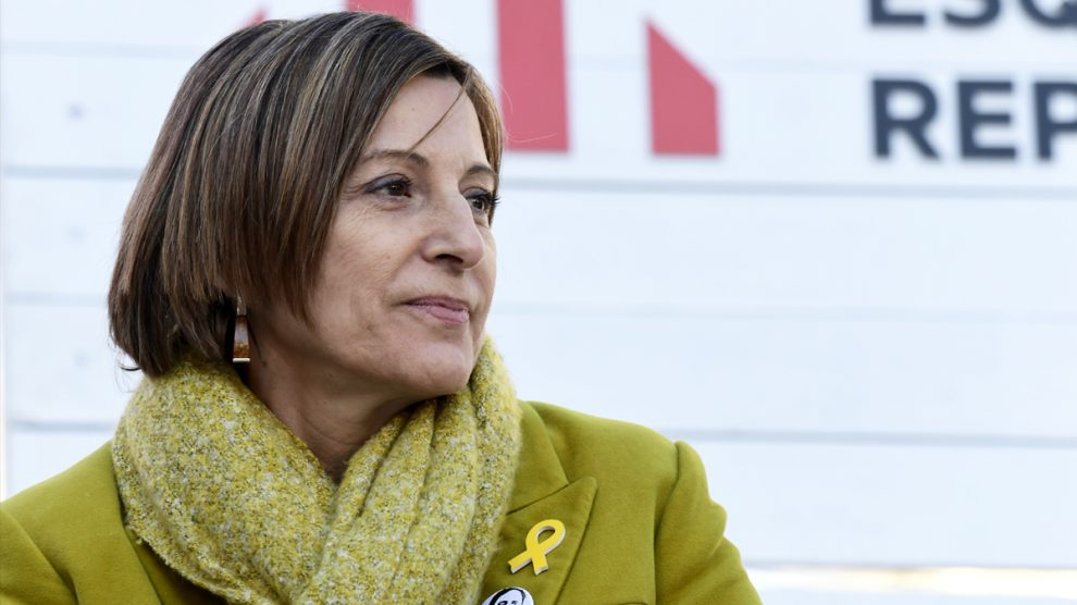 Carme Forcadell. (Foto: AFP)
