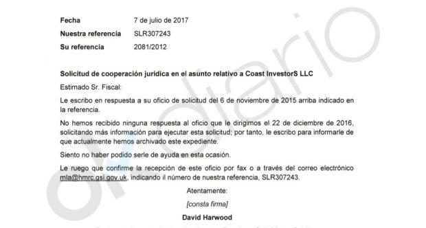Comisión rogatoria contestada por Reino Unido sobre el dúplex de Ignacio González.