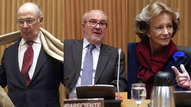 Rato, Solbes y Salgado coinciden en que no tuvieron nada que ver con la crisis financiera