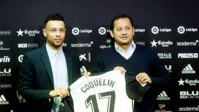 El Valencia presenta a su nuevo fichaje: el francés Coquelin llega del Arsenal