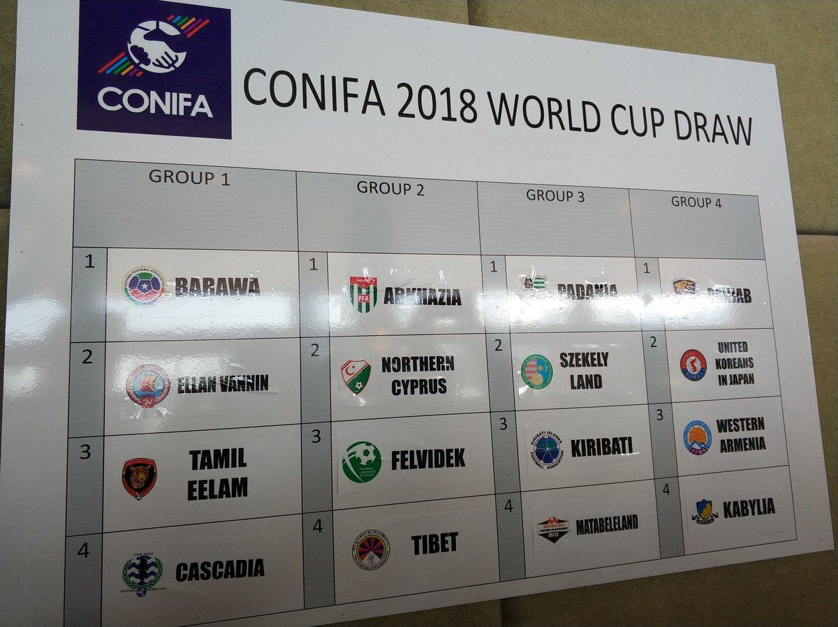 El Mundial que podría jugar Tabarnia… y ganarlo