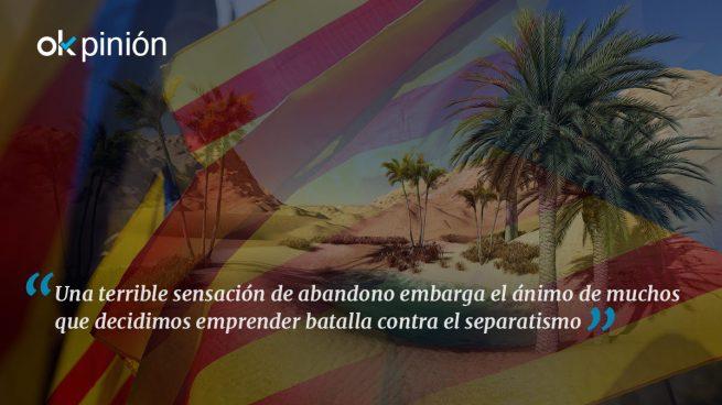 """El """"oasis"""" catalán"""